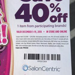 salon centric coupons 2019