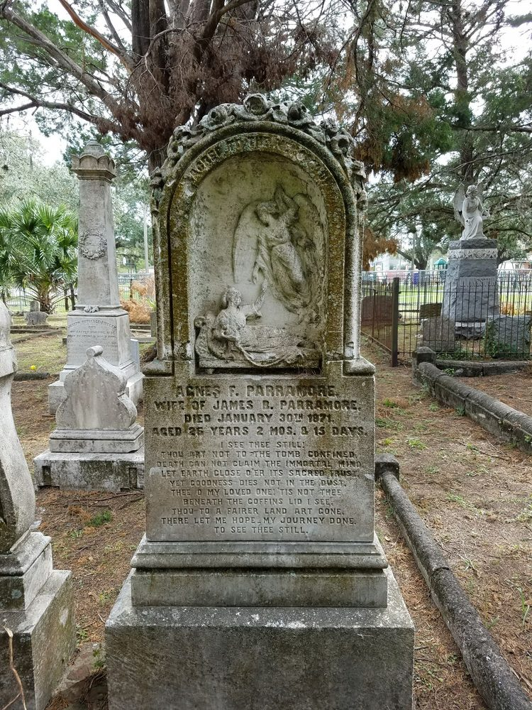 Old City Cemetery: E Union St, Jacksonville, FL