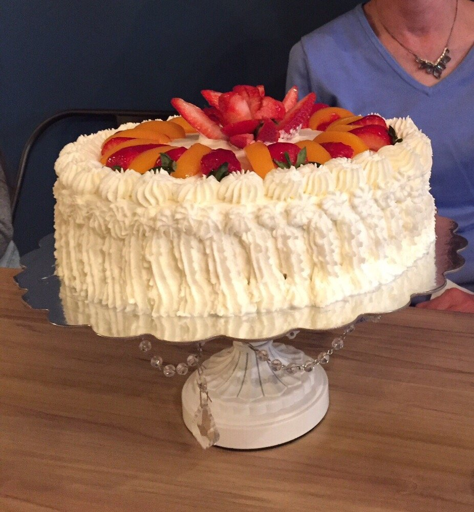Delicious Tres Leches Cake To Round Out A Birthday Dinner