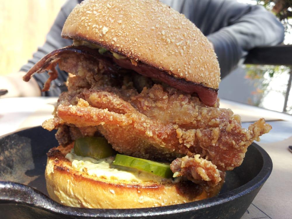 fry chicken sandwich - Yelp
