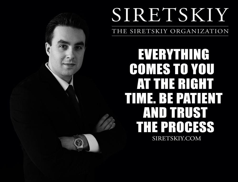 Mikhail Siretskiy - The Siretskiy Organization