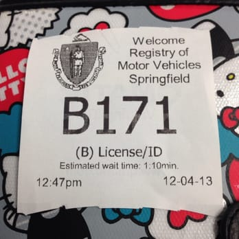 Registry of motor vehicles taunton ma for Springfield registry of motor vehicles