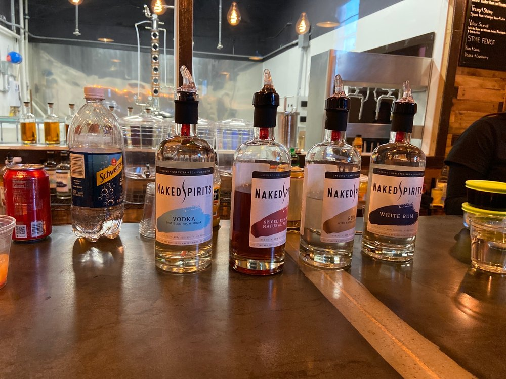 Naked Spirits: 1002 Hanley Industrial Ct, Brentwood, MO