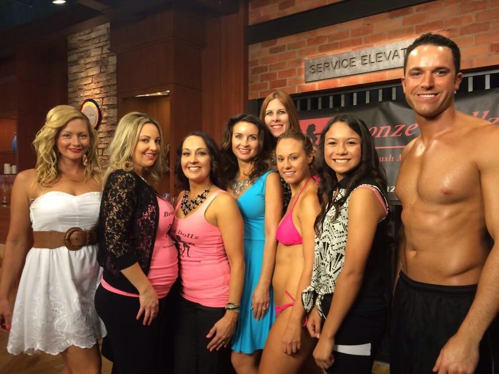 Bronze dollz on good day sacramento weekend may 10 2014 for 4 dollz only salon