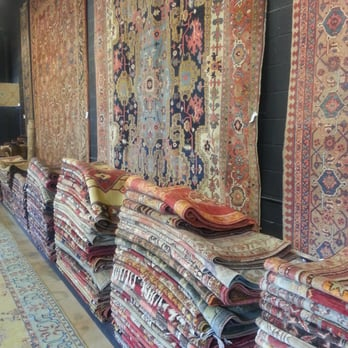Photo Of Farzin Rugs   Dallas, TX, United States. Stack Of Hundreds Of