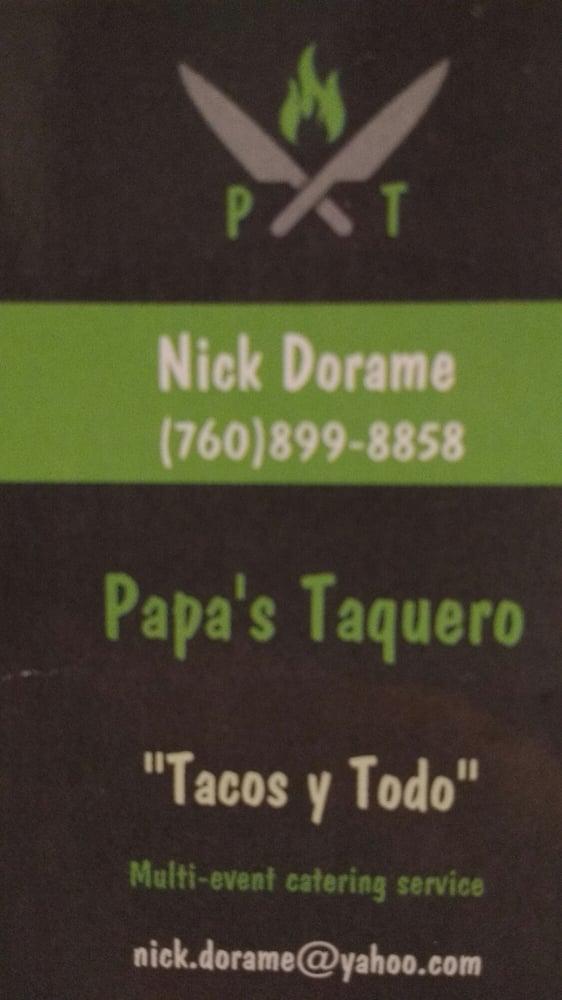 Papa's Taquero: Indio, CA