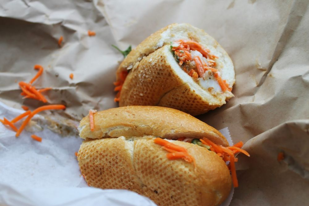 Food from Killer Poboys
