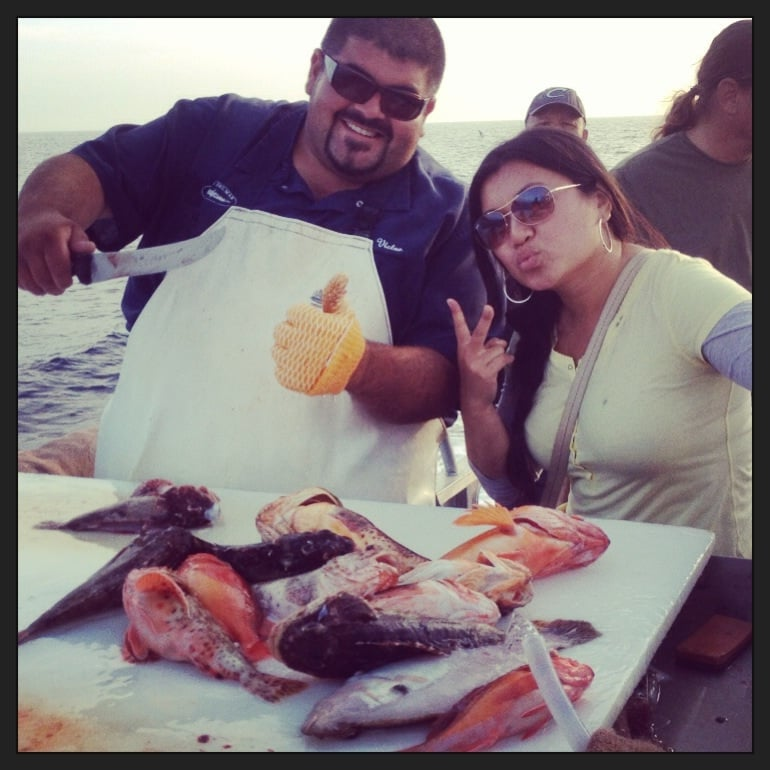 Getting gutted yelp for Marina del rey fishing report