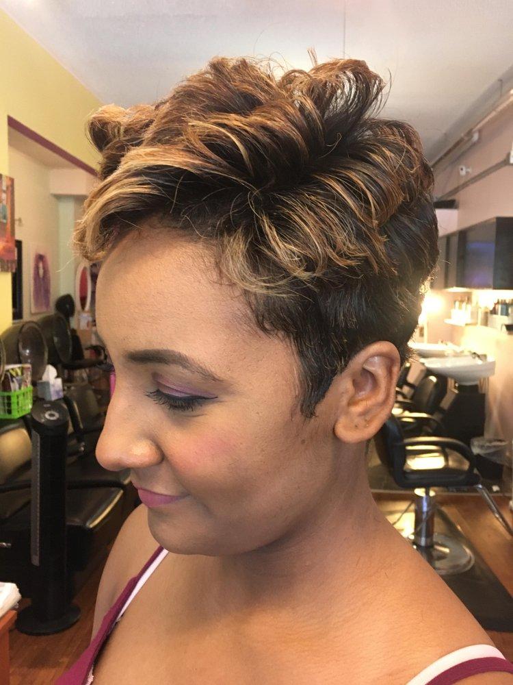 Short Styled Haircut Yelp
