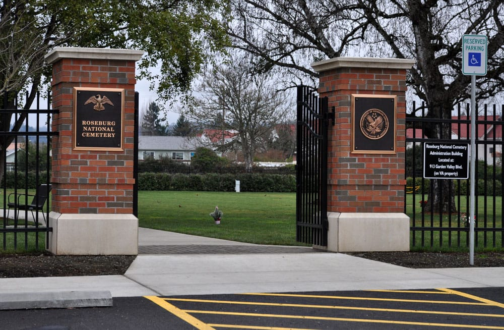 Roseburg National Cemetery: 1770 Harvard Blvd, Roseburg, OR