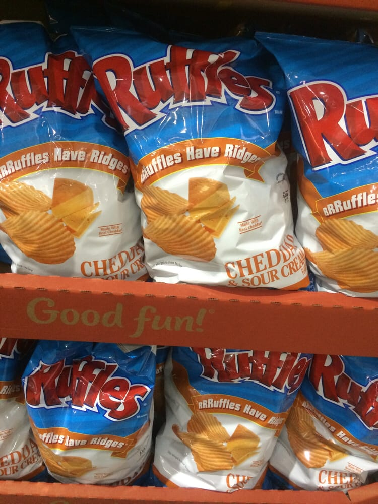 5 59 for a family sized ruffles chips