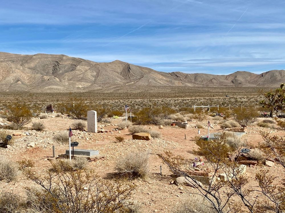 Goodsprings Cemetery: Goodsprings, NV