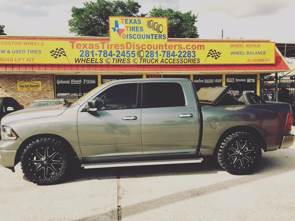 Texas Tires Discounters Lift kit Wheels Tires Truck accessories And ...