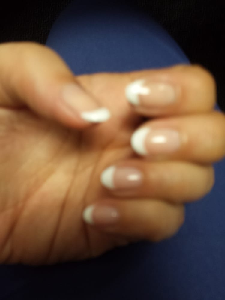 35$ extra for the fanned out nails very cheap and done well! - Yelp