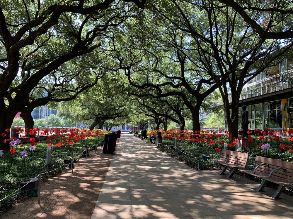 Discovery Green: 1500 McKinney, Houston, TX