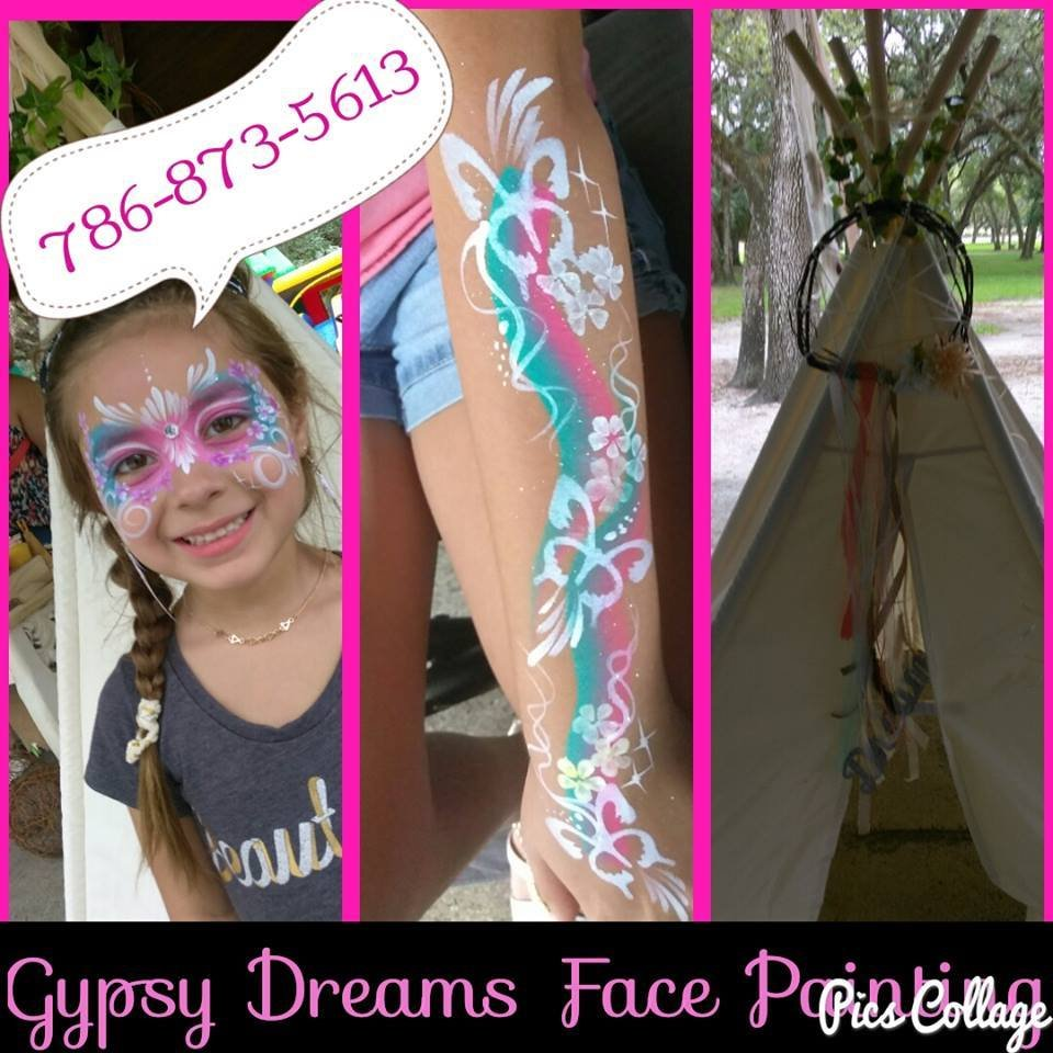 Gypsy Dreams Face Painting