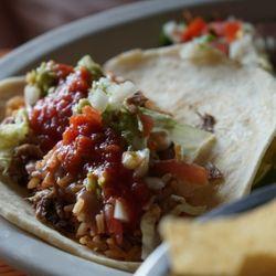 Photo Of Avilas Mexican Restaurant Dallas Tx United States Loaded Brisket Taco