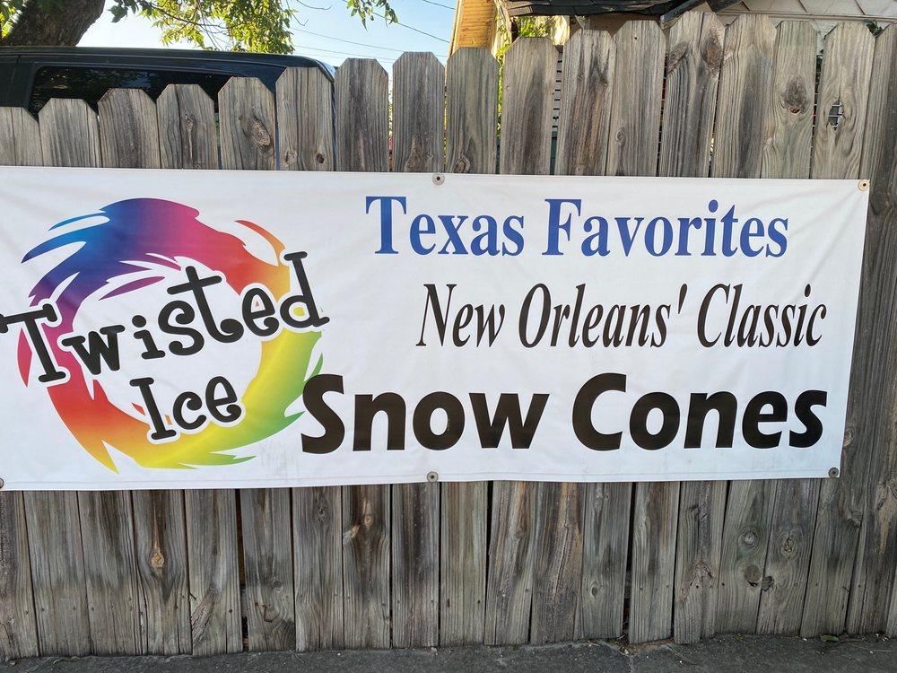 Twisted Ice: 102 N Main St, San Angelo, TX