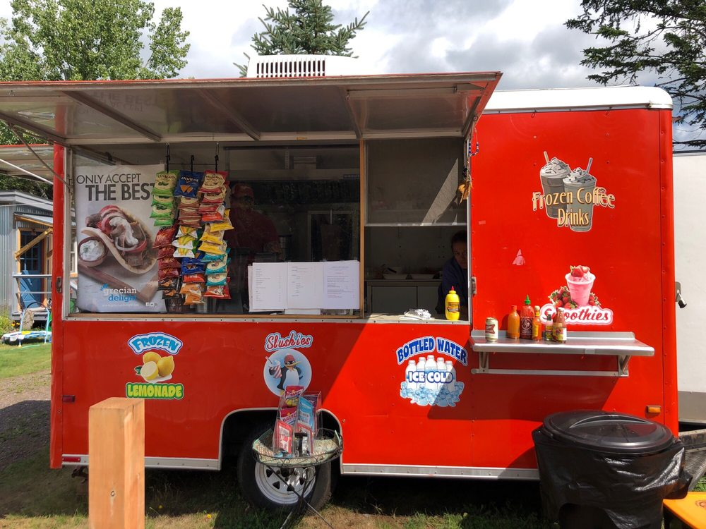 Jody's Food Truck: 734 Fort Rd, La Pointe, WI