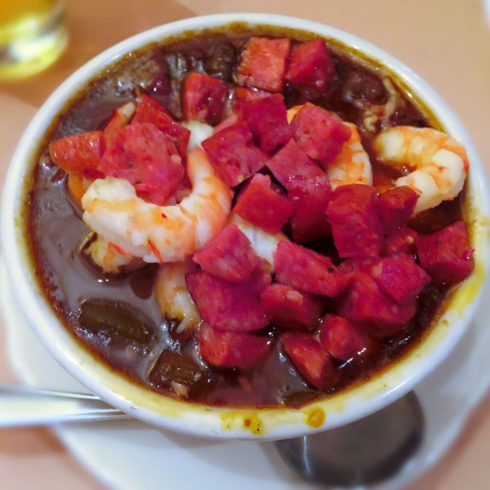 Pappadeaux Gumbo: Seafood Gumbo With Sausage.