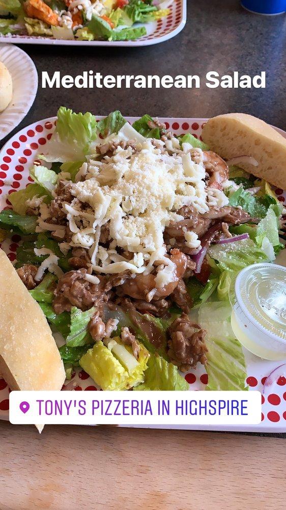 Tony's Pizzeria & Restaurant: 185 2nd St, Highspire, PA