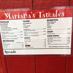Marianas Tamales Mexican 2535 Appleside Blvd Clarkston Wa