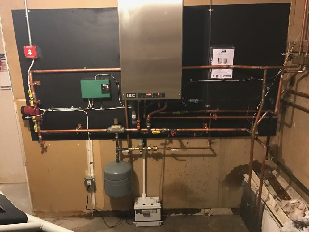 IBC Combi Boiler Does Both Heat and Hot Water Gas Or Propane - Yelp