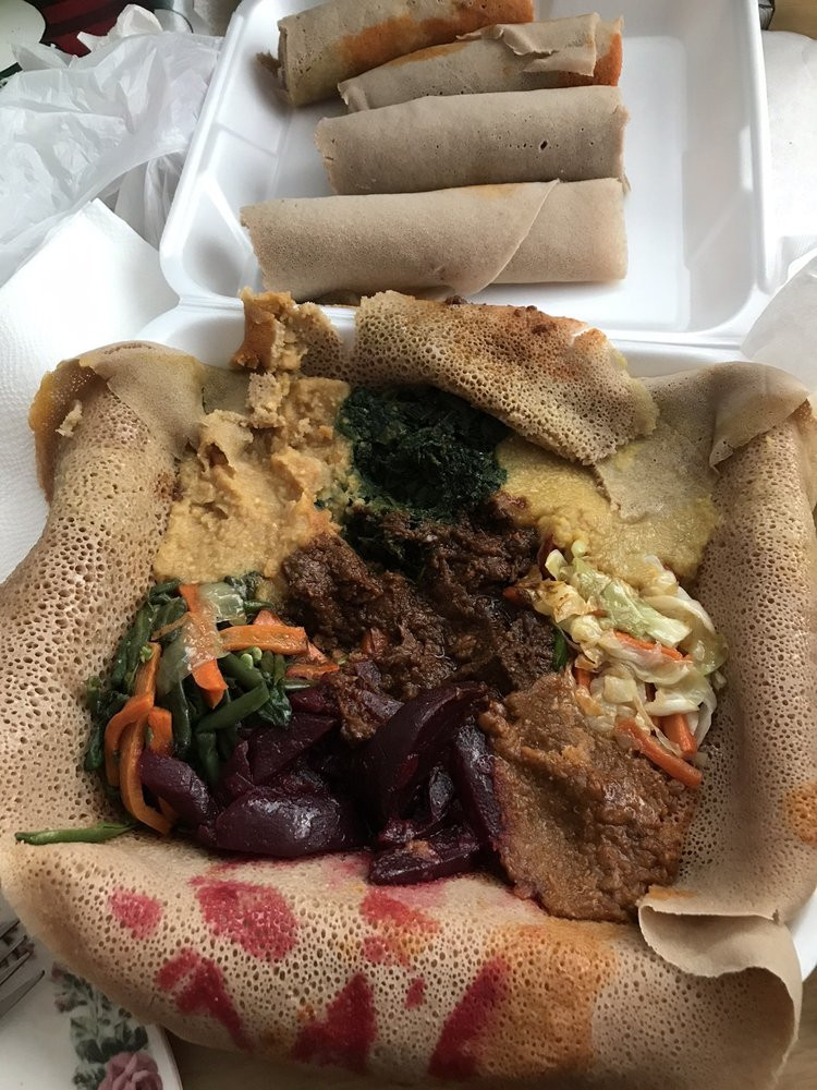 GS Cafe and Ethiopian Cuisine: 1068 N Citrus Ave, Covina, CA