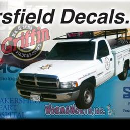 Bakersfield Decals Web Design Stockdale Hwy Bakersfield - Car custom vinyl stickers design
