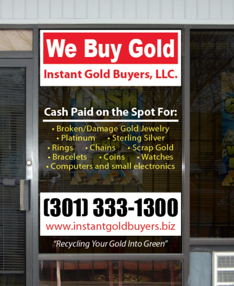 Instant Gold Buyers Llc Closed 12 Photos Jewelry 9244 E How To Find Scrap In Electronics Hampton Dr Capitol Heights Md Phone Number Yelp