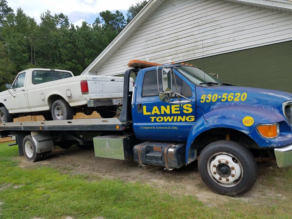 Lane's Towing: 110 Sedgewick Rd, Summerville, SC
