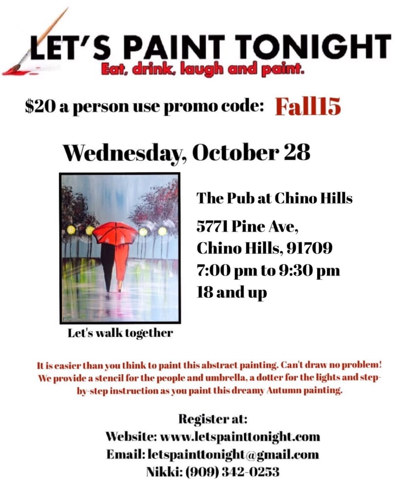 everyone is welcome and no painting skills are required
