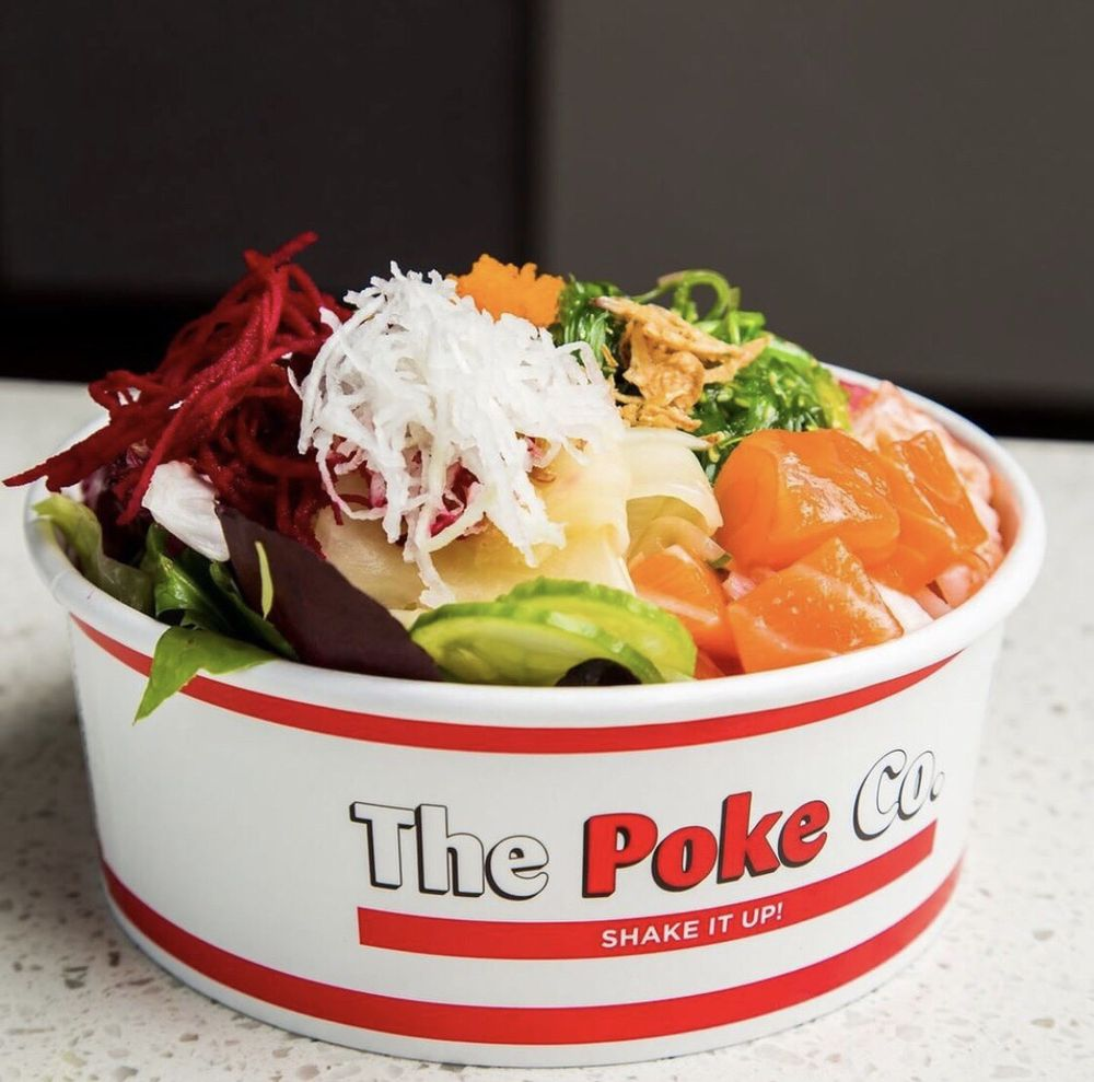 Food from The Poke Co.