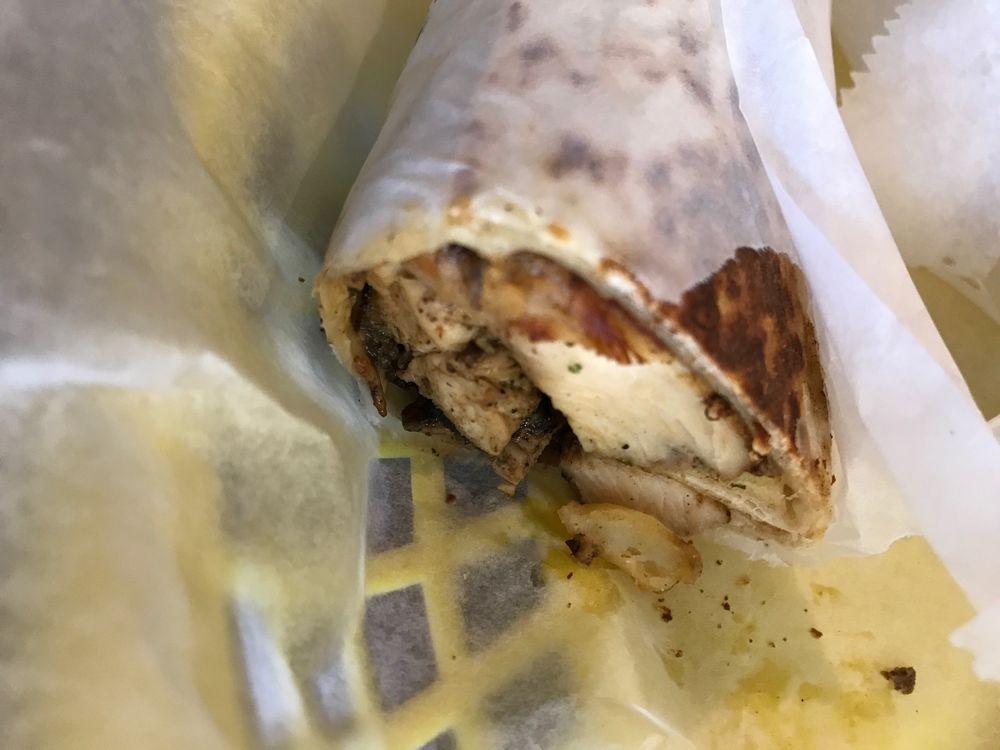 Food from Falafel Queen