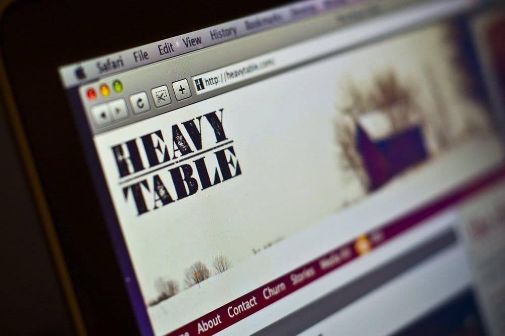 The Heavy Table