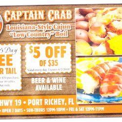 Best Seafood Restaurant Bay Blvd Port Richey Fl 34668