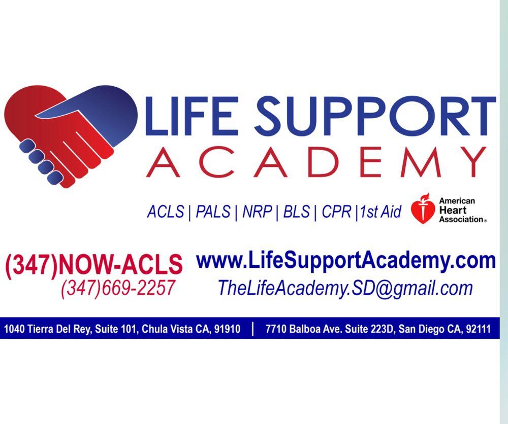Life Support Academy: 1040 Tierra Del Rey, Chula Vista, CA