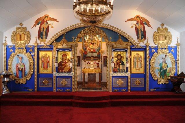St Mary's Ukrainian Orthodox Church: 409 Boston St, Jones, OK