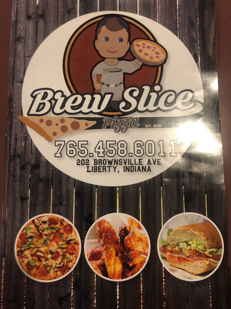 Brew Slice Bar & Grill: 202 Brownsville Ave, Liberty, IN