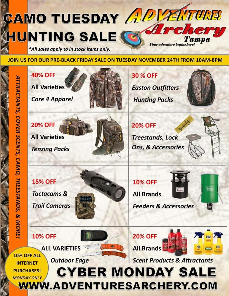 Adventures Archery: 2210 S US Hwy 301, Tampa, FL