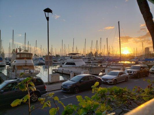 Photo Of Chart House Waikiki Honolulu Hi United States Sunset Over The