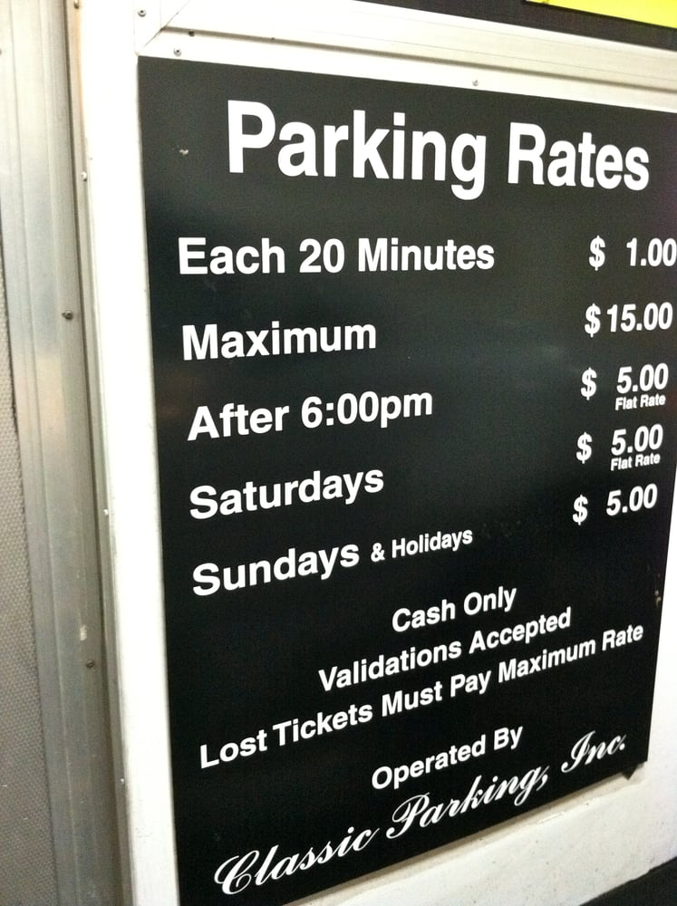 Pavilion garage 28 reviews parking 150 s 2nd st downtown san jose ca phone number yelp - Parking garage near my location ...