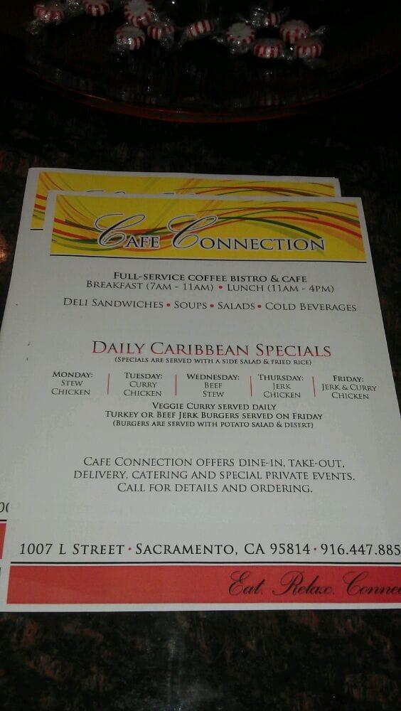 Cafe Connection Sacramento Ca