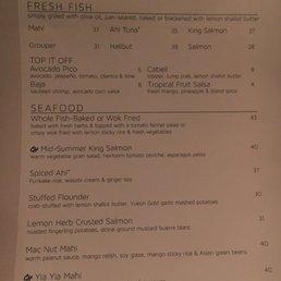Photos for chart house menu yelp