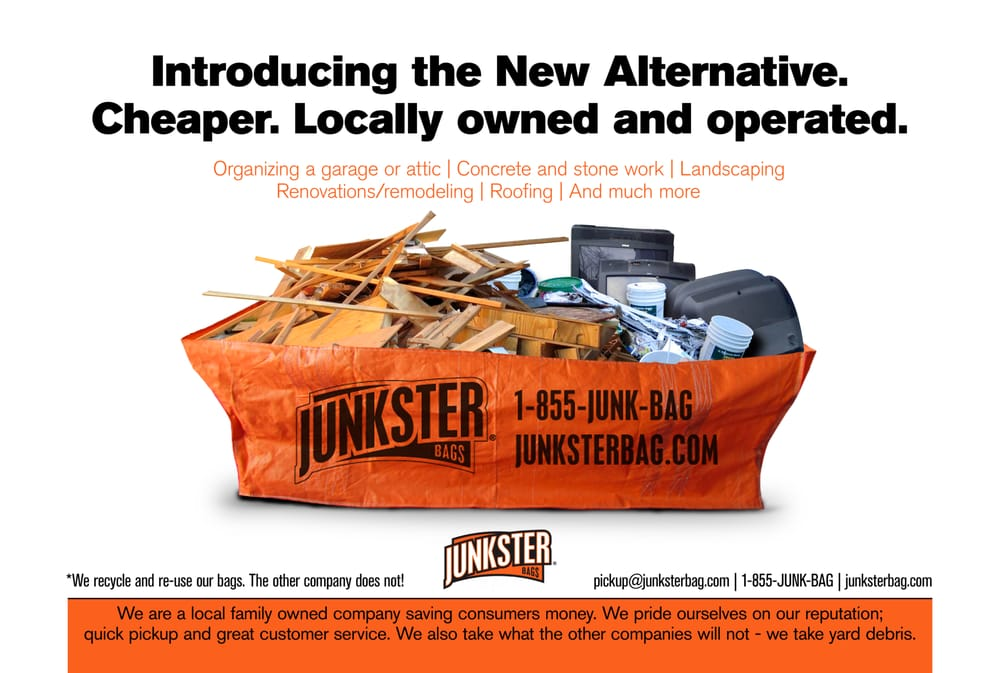 Junkster Junk Removal Bags - 13 Reviews - Home Services - 1423 ...