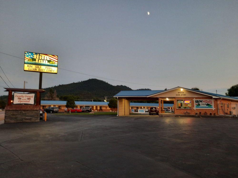 Hot Springs Hills Inn: 640 S 6th St, Hot Springs, SD