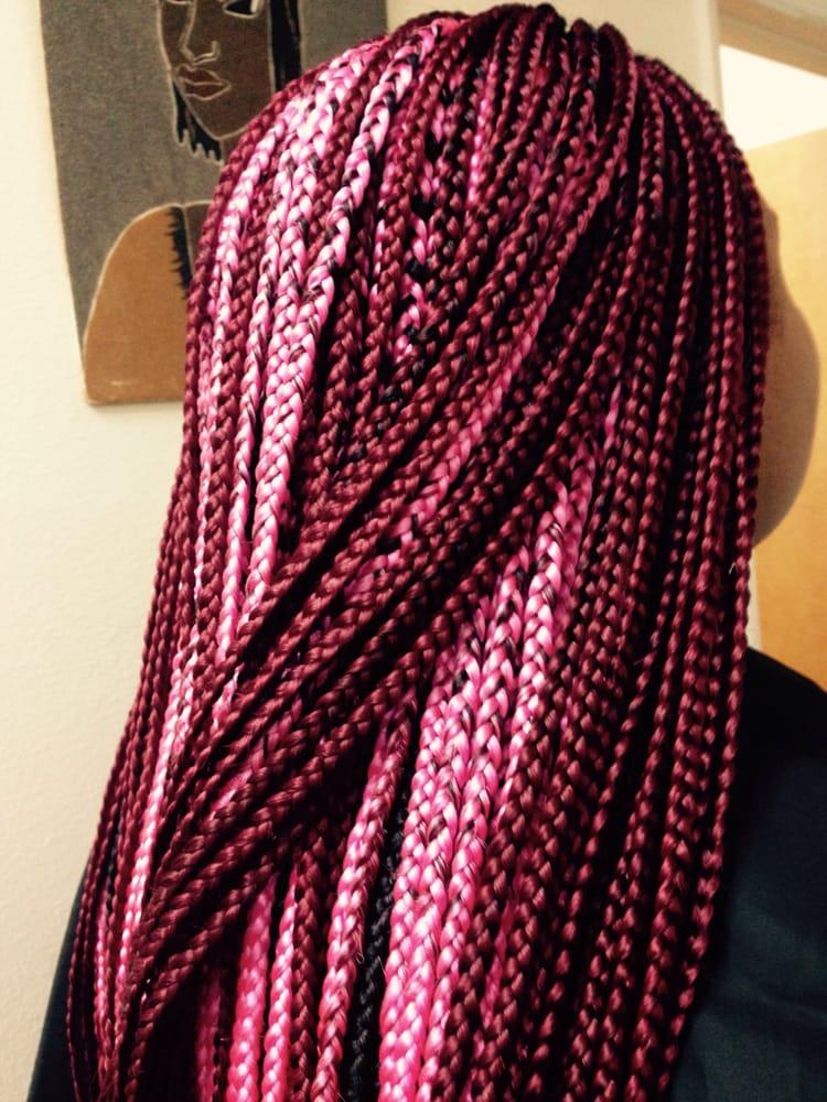 Pink Braids Yelp