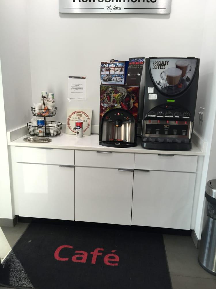 Ed Napleton Kia >> coffee what else do you need - Yelp