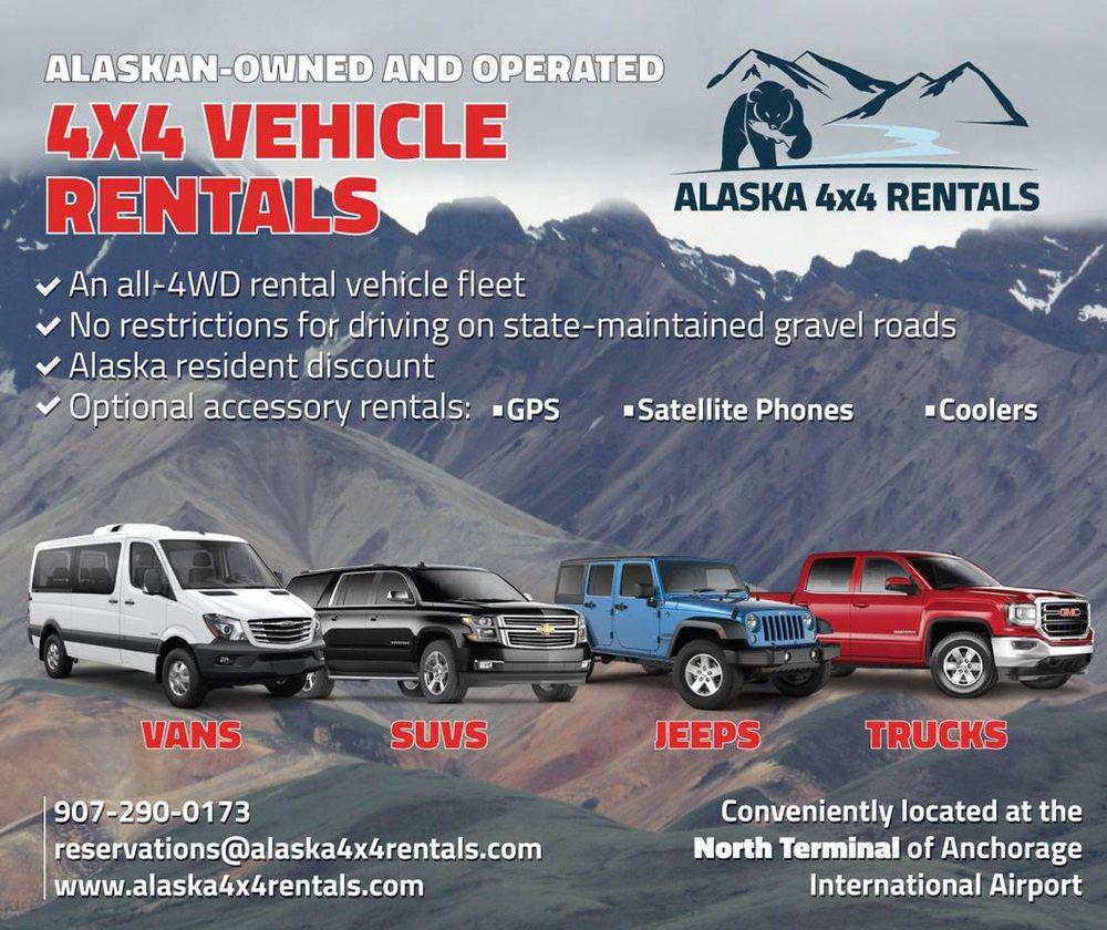Alaska 4x4 Rentals