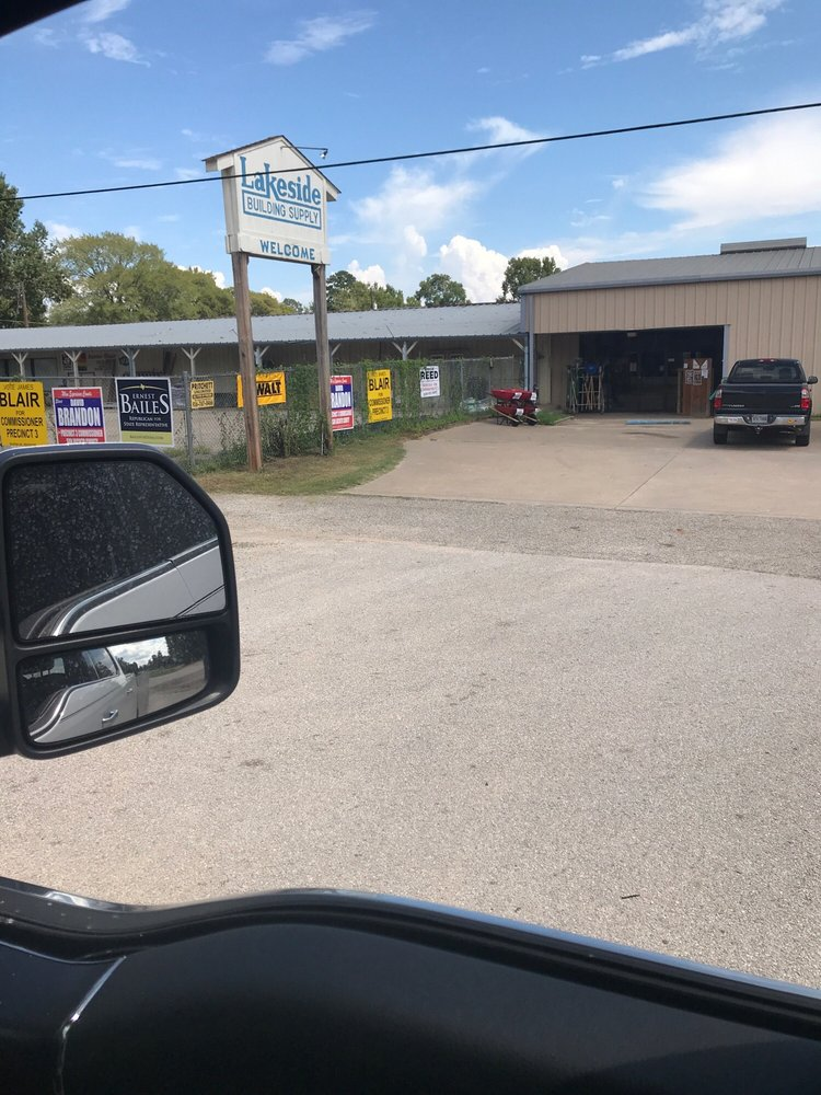 Lakeside Building Supply: 14530 Hwy 150 W, Coldspring, TX